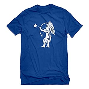 Indica Plateau Mens Tootsie Pop Indian X-Large Royal Blue T-Shirt