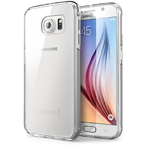Samsung Galaxy S6 Clear Phone Case Ultra Slim Transparent Crystal Clear Tpu Protective Soft Gel Back Thin Cover Case for Samsung Galaxy S6 2015 【Storm Buy】 (Clear)