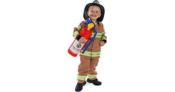Amazon.com: Rubie s Costume Co tan bombero sin sombrero ...