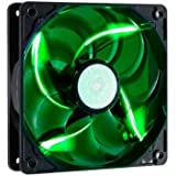 Cooler Master SickleFlow 120 - Sleeve Bearing 120mm Green LED Silent Fan for Computer Cases, CPU Coolers, and Radiators