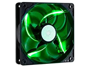Cooler Master SickleFlow 120 - Sleeve Bearing 120mm Green LED Silent Fan for Computer Cases, CPU Coolers, and Radiators (B0046U6DWO) | Amazon Products