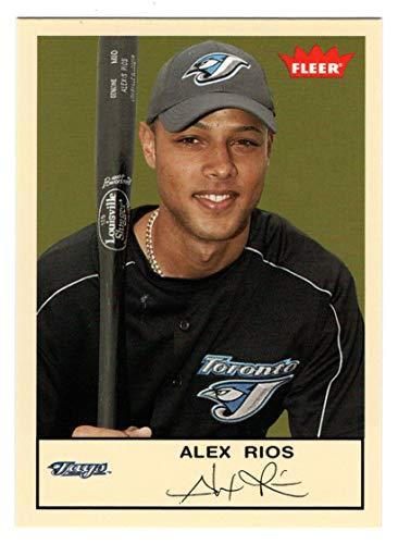 Alex Rios (Baseball Card) 2005 Fleer Tradition # 202 NM/MT