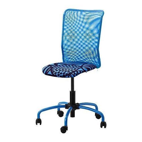 Drehstuhl ikea blau  IKEA TORBJÖRN Drehstuhl in blau: Amazon.de: Küche & Haushalt