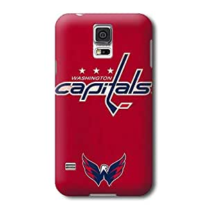 S5 Case, NHL - Washington Capitals Distressed - Samsung Galaxy S5 Case - High Quality PC Case