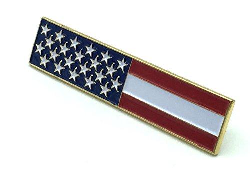 Award Bar (Citation Service Award Bar Pin- USA – American Flag Citation Service Award Bar Pin)