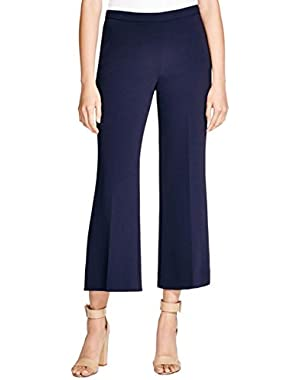 Theory Womens Laleenka Crepe Hidden Side Zipper Pants