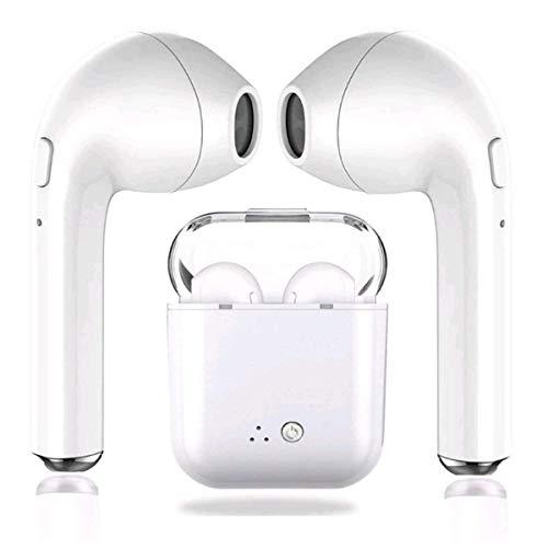 Bluetooth Headphones Wireless Earbuds Earphones in-Ear for Sport Bluetooth Earphones Stereo Sound Noise Cancelling 2 Built-in Mic Earphones