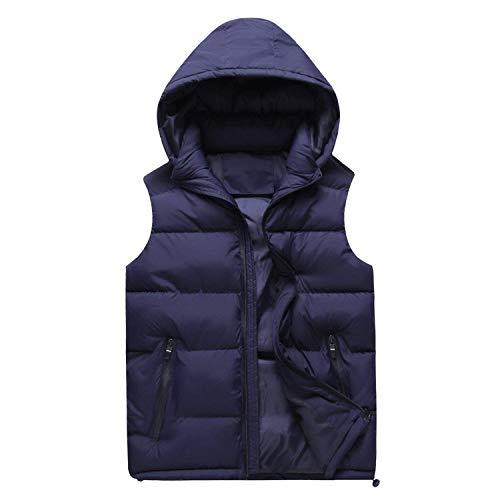 Del Maschile Inverno Marineblau Caldo Outwear Tuta Winstret Giù Maglia Cappotto Incappucciato Giacca Maniche Sportiva Di F8gw6q
