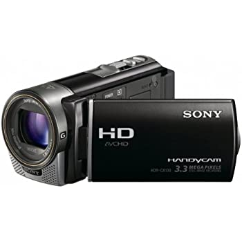 Sony HDRCX130 Handycam Camcorder (Black) (Discontinued by Manufacturer)