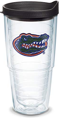 Tervis individual vaso con tapa, Cabeza de cocodrilo de Florida, Transparente, 24 Oz, 1