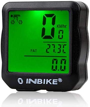 Liobaba Bicycle Computer Speedometer Wireless Waterproof Bike with Digital LCD Display Odometer Mountain Bike Speed Tracking