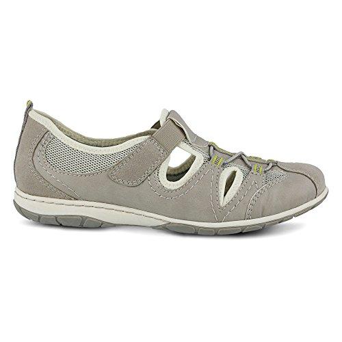 Scarpe Da Donna Primavera Milena Fashion Sneakers Grigio Manmade