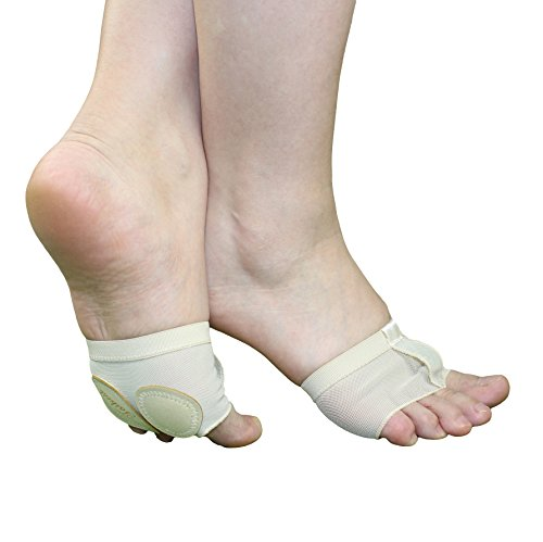 Taikesi Women Lyrical Shoes Foot Thong Dance Paw Half Sole Foot Toe Undies qXSyTOYvIp