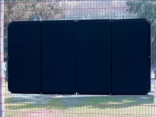 Standard Folding Backstop Padding (4ft x 12ft) Color: Navy