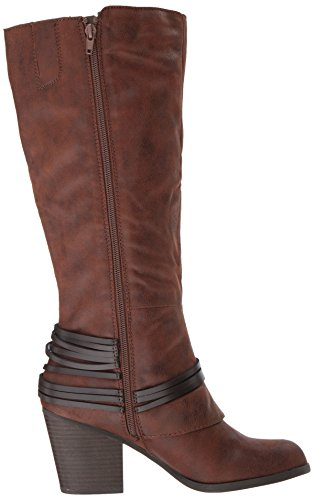 Womens Fergalicious Lessico Vasta Vitello Avvio Occidentale Cognac