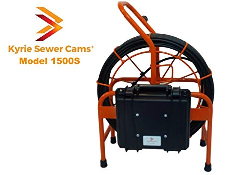 Kyrie Sewer Camera 1500S, 150 ft Camera with 512hz sonde