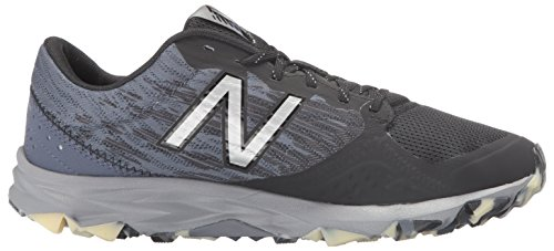 New Balance NEW BALANCE, Herren Trail Laufschuhe, mehrfarbig - schwarz / grau - Größe: 42,5 EU