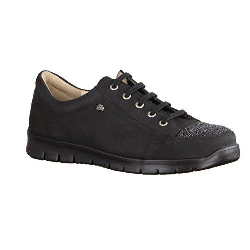 FINNCOMFORT Swansea - Zapatos de cordones de Piel para mujer negro negro negro