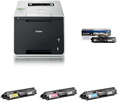 Brother HL-L8350CDW - Impresora láser color + Pack de 4 tóners ...