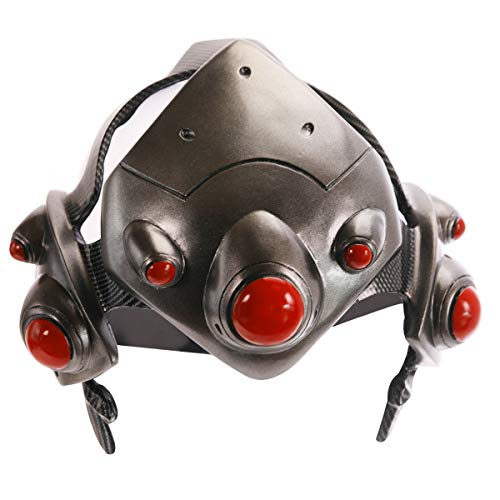 Overwatch Cosplay Widowmaker Mask Amelie Helmet Lacroix Game Anime Accessory Collectible Costume Props Black -