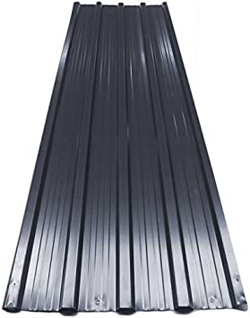 12x Deuba Corrugated Roof Sheets 1290 X 450 Mm 7 M Roofing Wall Cladding Metal Grey Anthracite Amazon Co Uk Diy Tools
