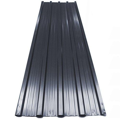 12x Deuba Corrugated Roof Sheets 1290 X 450 Mm 7 M 178