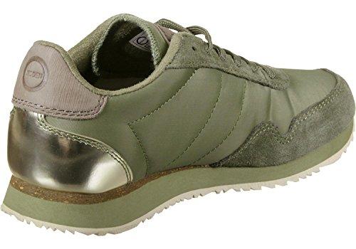 Woden Womens Nora Ii Sneaker, Rosa Verde (lime Grass)