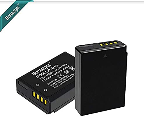 Bonadget - Batería de ion de litio para cámara réflex digital ...