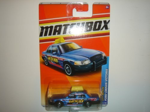 2011 Matchbox Ford Crown Victoria Taxi #68 of 100