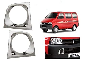 Auto Spare World Fog Lamp Chrome Cover For Maruti Suzuki Eeco 2010