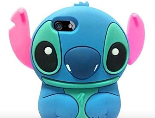 Disney 3D Stitch tirón movible del oído de la cubierta del estuche rígido para el regalo de Navidad de Iphone 4/4s: Amazon.es: Electrónica