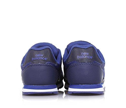 NEW BALANCE - Blauer Sportschuh 500 preschool, aus Synthetik und Mikrofaser, mit Klettverschluss, seitlich, Jungen-28,5