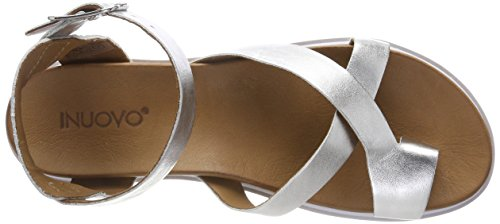 Gladiator Inuovo Silver 8723 Sandals Silver Women 16778935 wHHE6qP