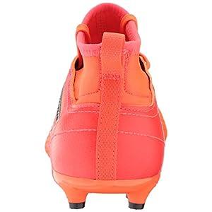 adidas Performance Boys' Ace 17.3 FG J, Solar Orange/Black/Solar Red, 4 Medium US Little Kid