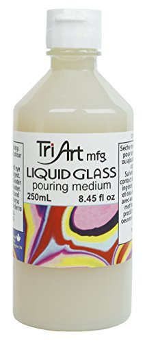 Tri-Art Liquid Glass Pouring Medium 250mL by Tri-Art