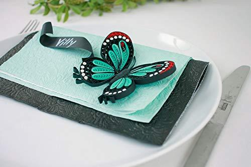 Karen-Maries Butterflies Fine Comb Quilling Heft Instruction Booklet