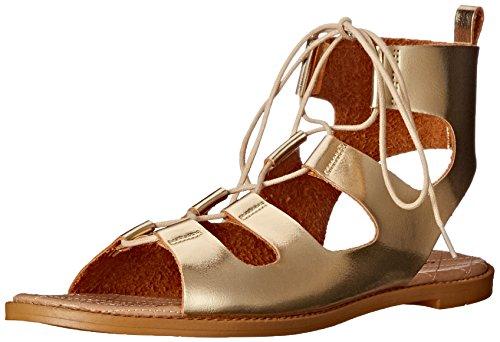 Chinese Laundry Womens Guess Who Sandal Gold Metallic