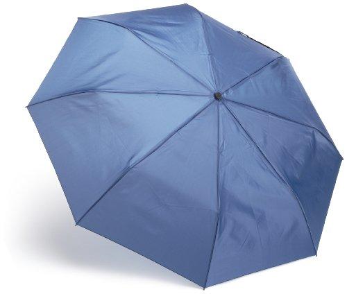 Totes Blue Close Compact Umbrella
