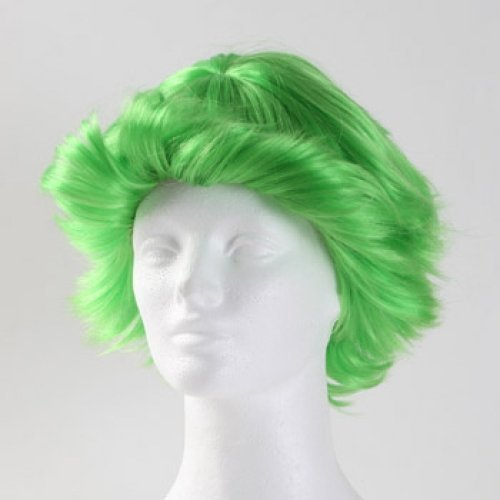 Fun Flip Clown Wig - Green by West - Bay Stores Mall Green
