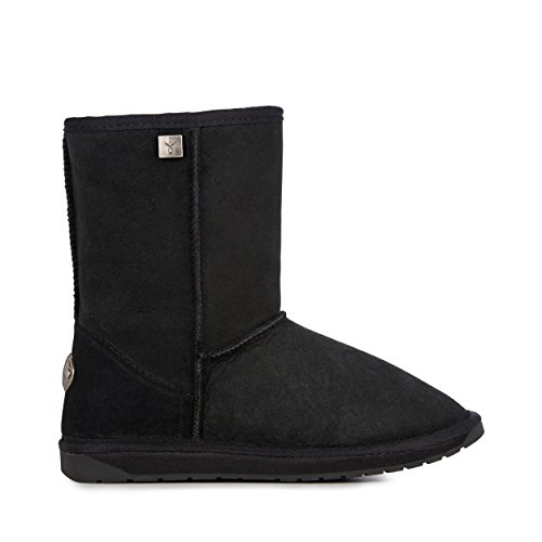 EMU Australia Platinum Stinger Lo Womens Real Sheepskin Boots Australian Made Size 10