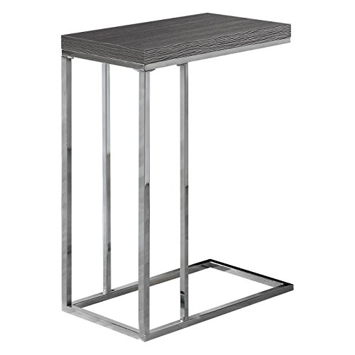 Indoor Multi-function Accent table Study Computer Desk Bedroom Living Room Modern Style End Table Sofa Side Table Coffee Table Gray Accent Table