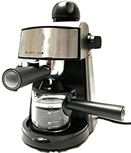 Powerful steam Espresso and Cappuccino Maker Barista Express Machine Black - Make European Espress