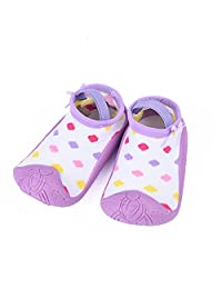 Unisex Toddler Baby Soft Rubber Bottom Sock Shoes,Dotted Pattern