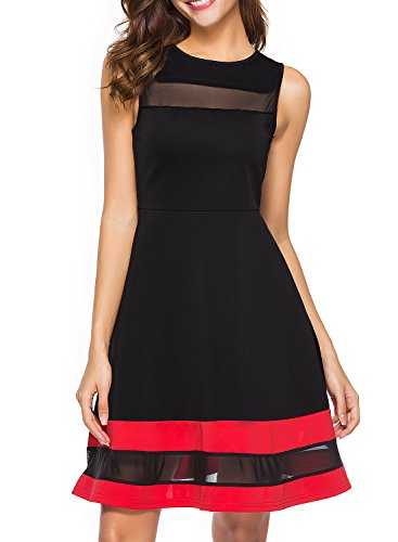 fitted panel dress - 7
