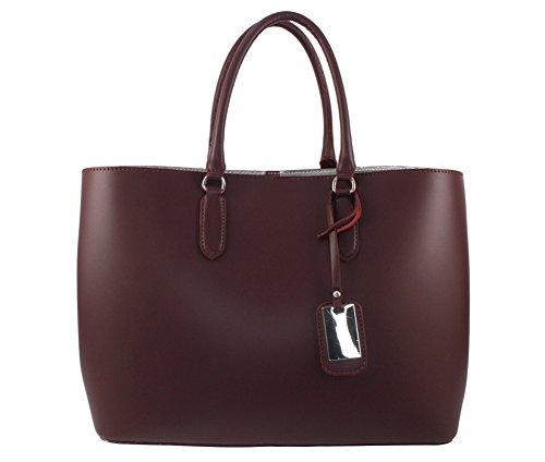 Bordeaux a Italiana main a sac main cuir cuir sac sac Coloris a sac sac main a femme sac Plusieurs Sac cuir cuir 1t4qPdWw4