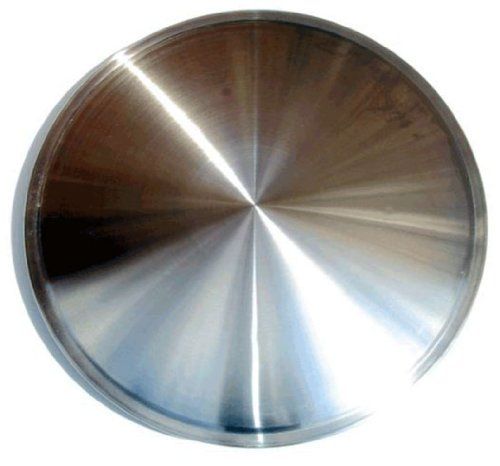CCI IWCRD-16 16 Inch Clip On Stainless Steel Racing Disk Hubcaps - Pack of 4