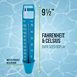 U.S. Pool Supply Scoop Pool Thermometer with Jumbo