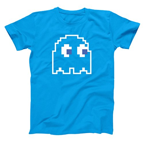 Costumes Ghosts Pacman (8-Bit Video Game Ghost Group Halloween Costume Mens Shirt Medium)