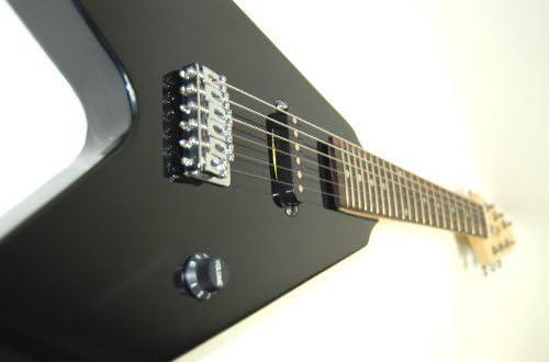 Flying V Niños o viaje S de guitarra Black/Negro: Amazon.es ...
