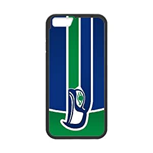 Seattle Seahawks 02 funda iPhone 6 4.7 pufunda LGadas funda caja del teléfono celular cubren negro, funda iPhone 6 4,7 casos pufunda LGadas Funda negro